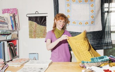 Community Spotlight Interview With Lindsey Fout of Last Chance Textiles